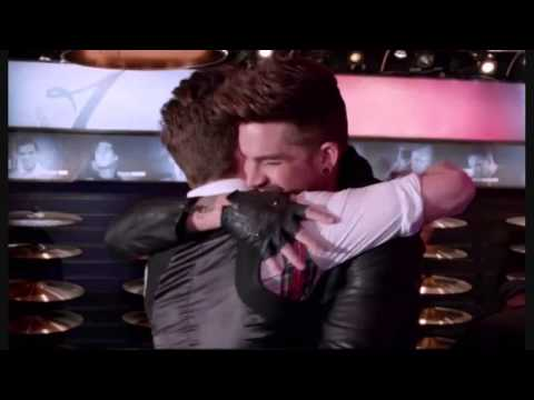 HD Adam Lambert Rockstar Longer Snippets GIFs Pics New NY