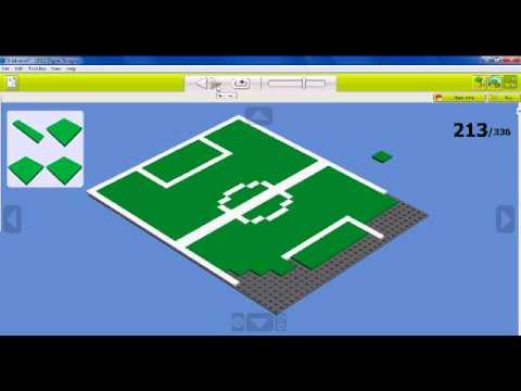 Building A Stadium In Lego Digital Designer Youtube