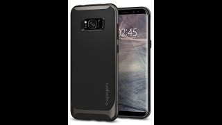 Best Case:Samsung Galaxy S8 Cover , Spigen Neo Hybrid Flexible Protection amazon