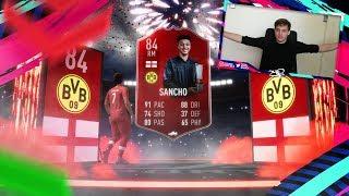 COINS VERSPILLEN TIJDENS POTM SANCHO    FIFA 19 Nederlands