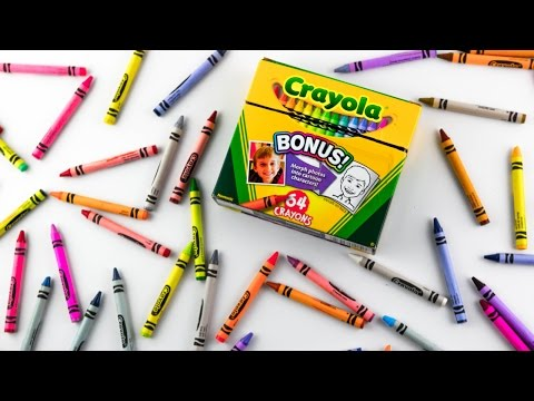 Learn Colors for Kids - Crayola 64 Pack |