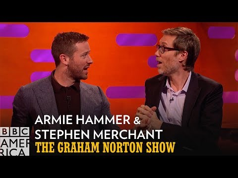 CGI Magic Gave Us Twice The Armie Hammer | The  Graham Norton Show | BBC America
