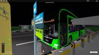Singapore Bus Services [Roblox] Kanford Town Bus Simulator Service 633