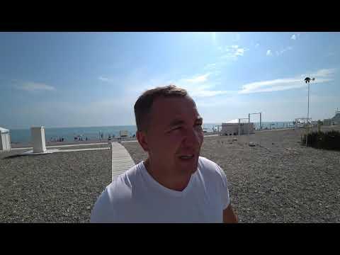 Лучший пляж в Сочи(бесплатный). Осторожно!!! Красивые , обнаженные девушки
