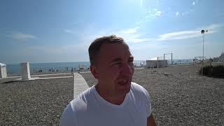 Лучший пляж в Сочи(бесплатный). Осторожно Красивые , обнаженные девушки