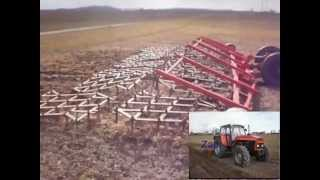 Wiosenne prace na wsi 2012 /John Deere 5100R / Ursus 1224 / John Deere 7710 / Zetor 12045
