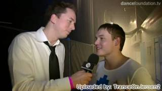 [HD] Trance Energy 2009 BACKSTAGE!! Armin van buuren presents (interviews: tyDi, John O