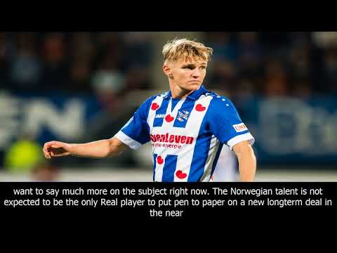 Martin odegaard confirms new real madrid deal as zinedine zidane keeps planning for the future