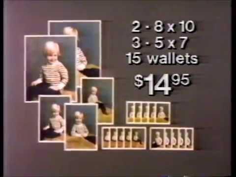 Sears Portrait Studios commercial (1986)