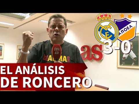 "Real Madrid 3-0 APOEL | Roncero: ""Cristiano ha devuelto la tranquilidad al Real Madrid"" 