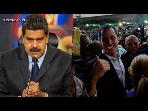 CRISIS de VENEZUELA: JUAN GUAIDÓ DESAFÍA al GOBIERNO de MADURO y REGRESA a CARACAS