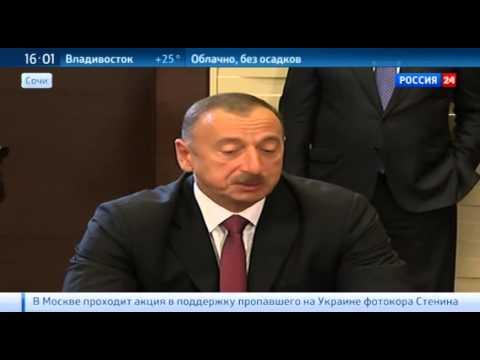 Алиев и Саргсян надеются мирно решить нагорно карабахский конфликт