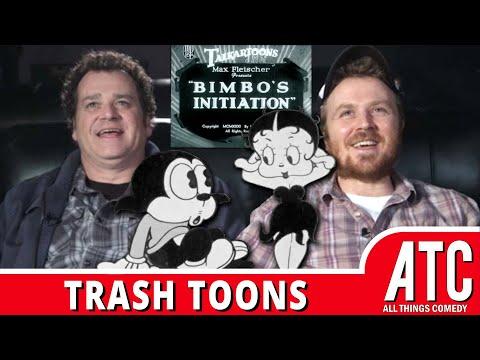 BETTY BOOP? Dave Anthony & Gareth Reynolds on Bimbo's Initiation: TRASH TOONS