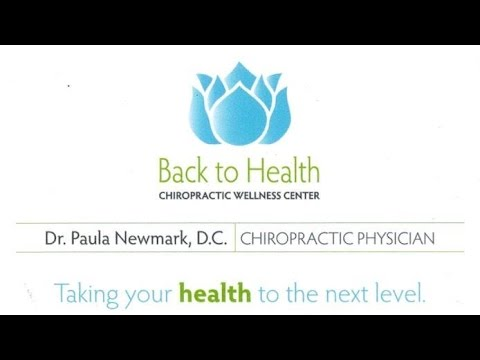 Juno Beach FL Chiropractor Dr Paula Newmark Welcomes You