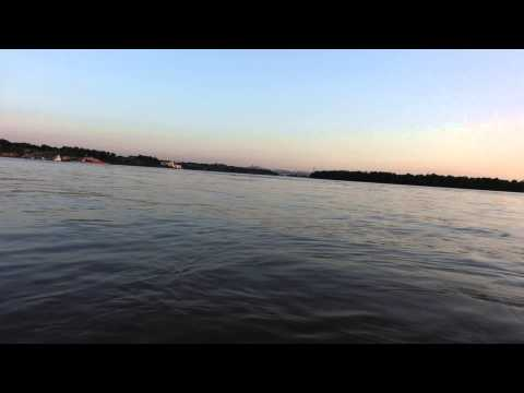 5-6-15 Kayaking the Sunset on the Lower Mississippi River