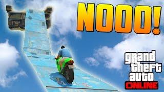 NOOO!! MALDITA TUBERIA!! - Gameplay GTA 5 Online Funny Moments (Carrera GTA V PS4)