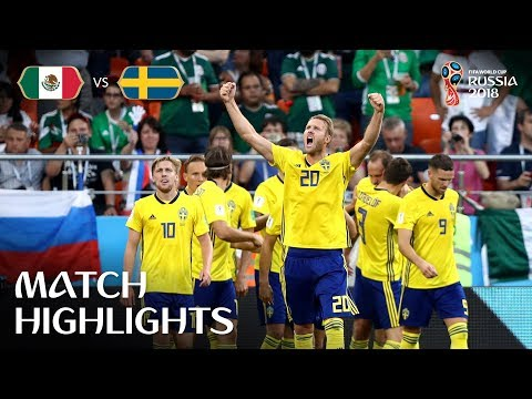 Mexico v Sweden - 2018 FIFA World Cup Russia™ - Match 44