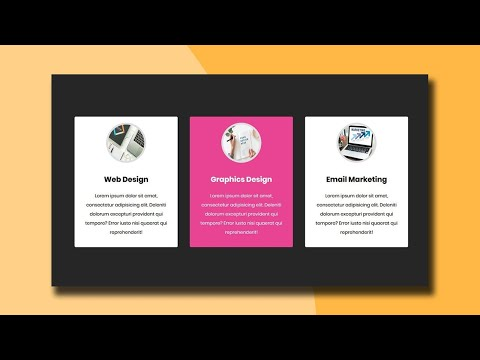 Responsive our Service section design with Flexbox | CSS Flexbox Tutorial