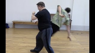 A dangerous Tai chi science experiment, and a tuishou lesson