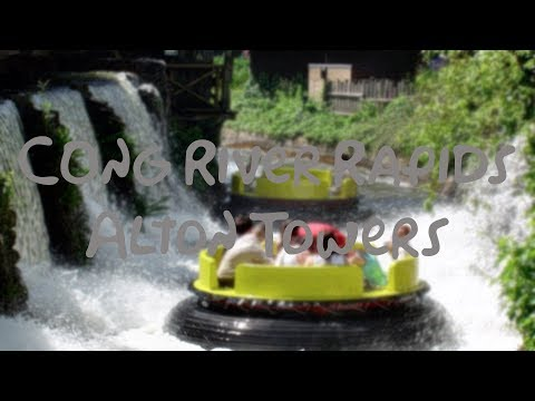 Congo River Rapids 1080p POV Alton Towers