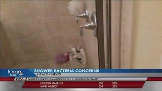 Hidden bacteria growing in your shower