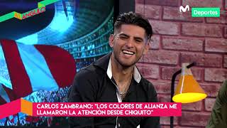 Al Ángulo: Carlos Zambrano y su razón de ser hincha de Alianza Lima | *ENTREVISTA*