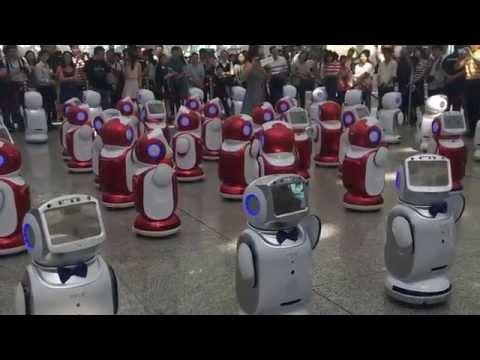 robots in China  ,Çinde rorbotlar