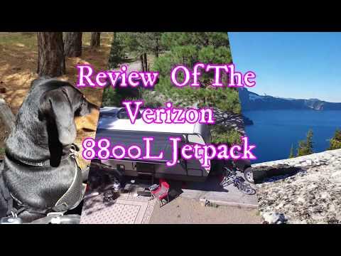 Verizon 8800L jetpack review