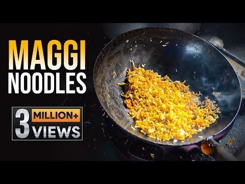 Maggi Noodles Unique Recipes | Egg Maggi Noodles | Chicken Maggi Noodles | Hyderabad Street Food