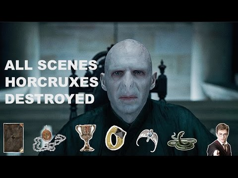 VOLDEMORT'S 7 HORCRUXES GETTING DESTROYED!