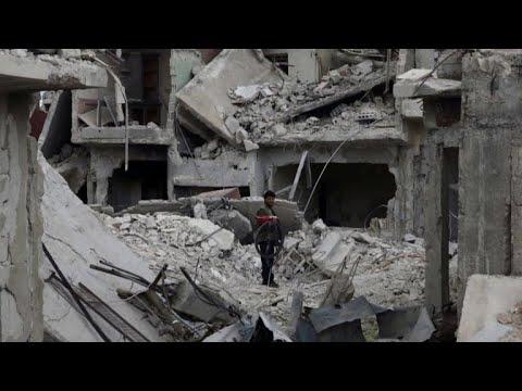 Trump, U.S. allies consider military response in Syria