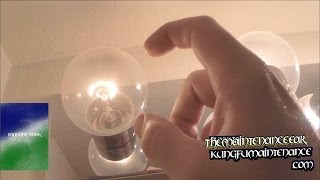 Easy Fix For Burnt Out Burned Lucky Light Bulb Rejuvenation Repair Video