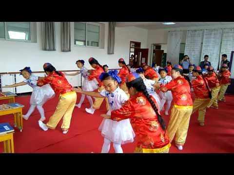 Manchurian Children Dance in Jilin China