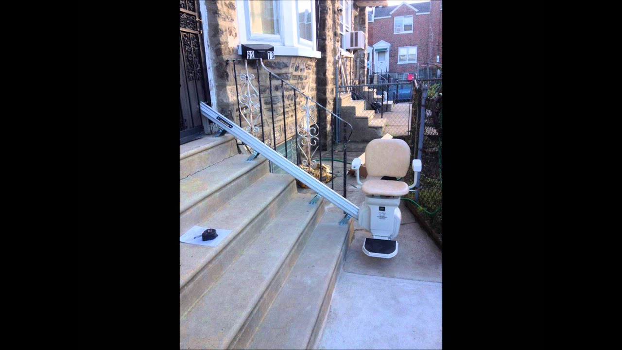 Outdoor stair lift - Outdoor Stair Lifts For Sale 267 210 8499 Pa De Nj