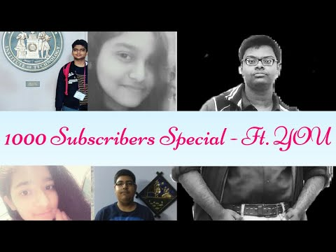 1000 Subscribers Special | Collab with KVPY, JEE & NEET Aspirants | Giveaway