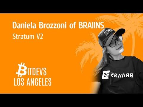 Stratumv2 And The Next Generation Protocol For Pooled Mining With Daniela Brozzoni Of Slush Pool