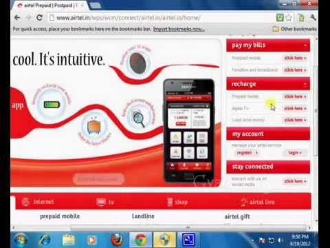How to Recharge Mobile Online - in Hindi, Mobile Recharge Kaise Kare ?