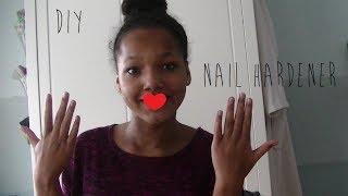 DIY: Nail Hardener ♥