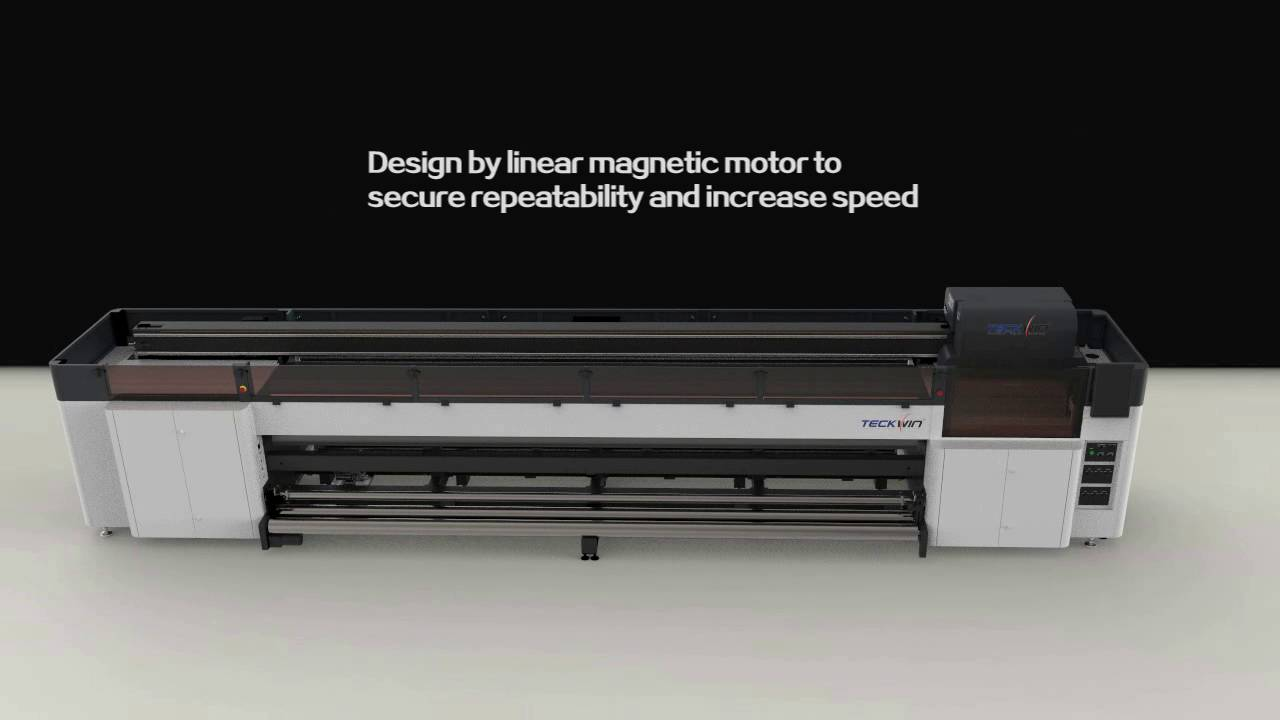 Teckwin TS5000HF grand format UV LED roll to roll printer