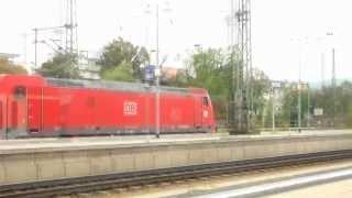 Eisenbahn Verkehr In Bruchsal An 13.09.2014