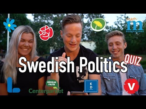American Takes A Swedish Political Quiz (Who Would I Vote For?)