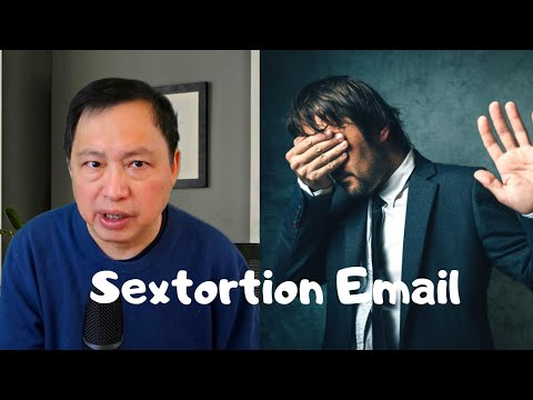 Sextortion Email Scam For Bitcoin Showing Password