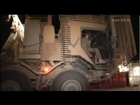 Keeping frontline supplied in Afghanistan 26.11.12
