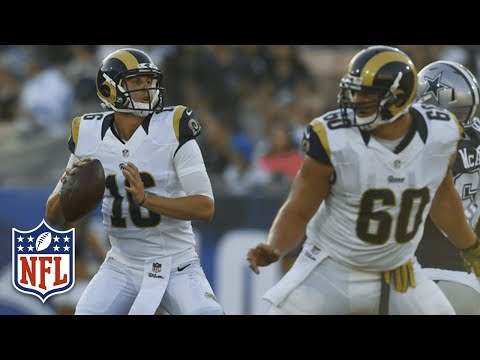 Every Jared Goff Throw from Week 1 | 2016 NFL Preseason Highlights