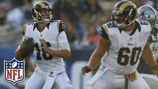 Every Jared Goff Throw from Week 1 | 2016 NFL Preseason Highlights