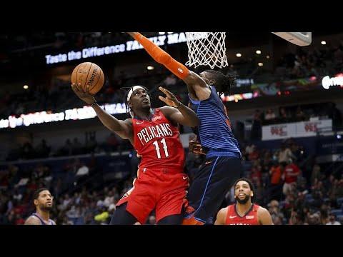 NBA : les Pélicans mettent KO Oklahoma City