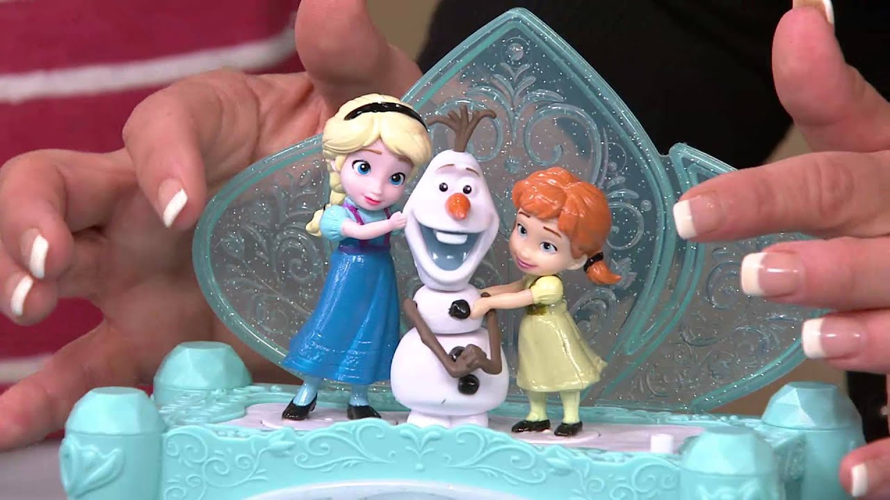 Disneys Frozen Musical Jewelry Box with Rachel Boesing YouTube
