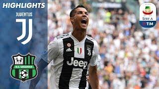 Juventus 2-1 Sassuolo | Ronaldo Scores First Juventus Goals | Serie A