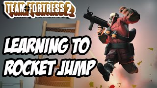 TF2 Learning To Rocket Jump