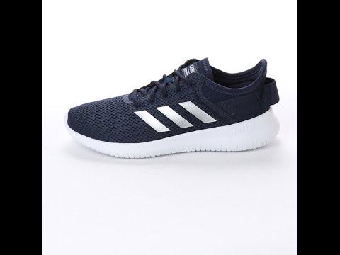 Unboxing Review sneakers Adidas CF Qtflex W DA9837 YouTube
